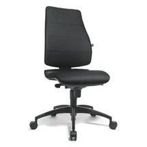 Kancelárska otočná stolička Topstar® Syncro sčalúneným operadlom