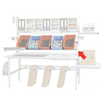 Kantelbare plank voor paktafel Classic en Multiplex