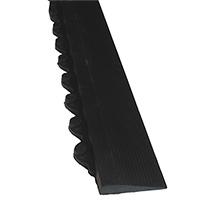 Kantenleisten für Bodenplatte Quadro, schwarz / gelb