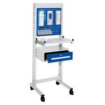 Kappes ErgoPlus® staand werkstation, met zwenkwielen