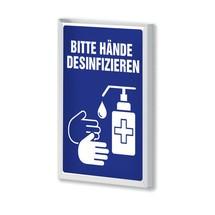 """Kappes RasterPlan® gereedschapshouder, informatiebord """"Desinfectie"""""""