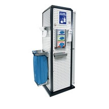Kappes RasterPlan® Tool Tower, stationair, met deur+plank