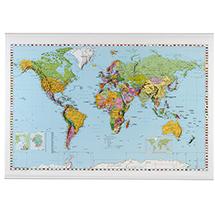 Kartentafel EUROPA + WELT