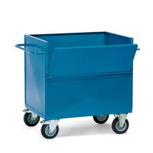 Kastenwagen fetra® aus Stahlblech oben offen