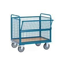 Kastenwagen fetra® mit Drahtgitterwänden