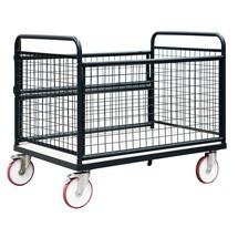 Kastenwagen mit Drahtgitterwänden, TK 600 kg
