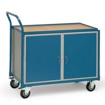 Kastwagen fetra® met 2 kasten. Capaciteit 250 kg