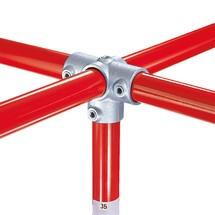 Kee Klamp® kruisverbinding 1 middendoorgang, 3 insteken