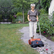 Kehrmaschine haaga ® Top Sweep. Manuell, Kehrbreite 550 mm