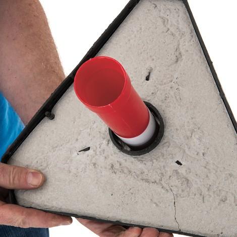Kettenständer-Set, Kunststoff-Fuß