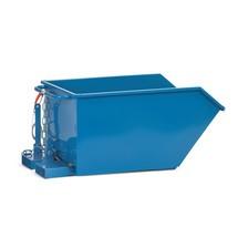 Kiepbak fetra® met automatische kiepinrichting. Tot 750 liter, tot 1000kg