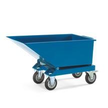 Kiepbak fetra® met / zonder wielen, volume tot 0,45 m³