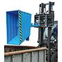 Kippbehälter kompakt, Tragkraft 1500 kg, Volumen 1 m², lackiert