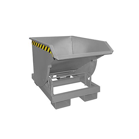 Kippbehälter mit Abrollmechanik, Volumen 0,3m³, lackiert