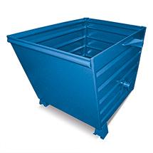 Kippbehälter. Tragkraft bis 1500 kg, lackiert oder verzinkt