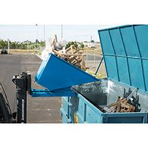 Kippcontainer automatisch, Volumen bis 1,6 m³, Tragkraft bis 2000 kg