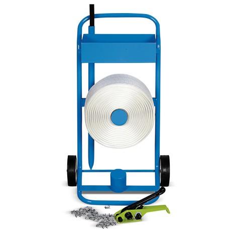 Kit de cerclage Confort pour feuillards de cerclage en polyester