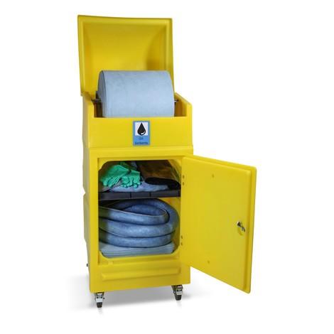 Kit de cuve d'urgence à roulettes, contenance 300 l