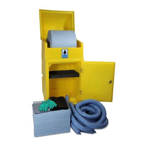 Kit de emergencia cilindro de rodillos, capacidad 300 litros