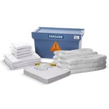 Kit de emergência em caixas de transporte
