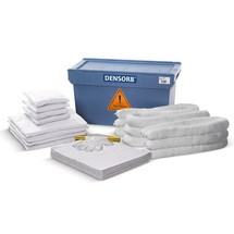 Kit de emergencia en cajas de transporte