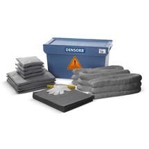 Kit de remplissage pour le kit d'urgence dans la caisse de transport