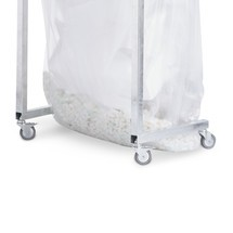 Kit de roues pour collecteur de recyclage grande contenance