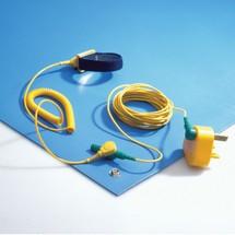 Kit de tapis de travail ESD en chlorure de polyvinyle