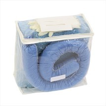 Kit di emergenza in borsa in PVC, capacità di assorbimento 20 l