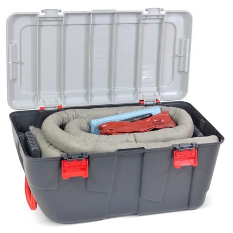 Kit di emergenza per oli, capacità 75 litri
