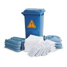Kit di ricarica per kit di emergenza in bidone con ruote
