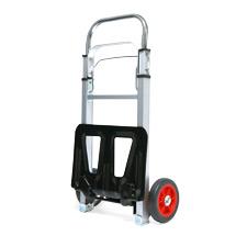 Klappkarre BASIC aus Aluminium. Tragkraft 90 kg, Schaufel 24 x 35 cm