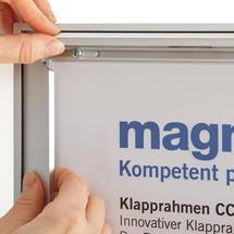 Klapprahmen Typ CC. Aus Aluminium eloxiert