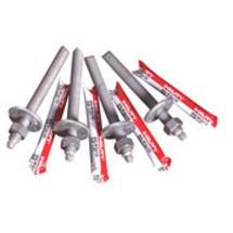 Klebeanker M 16 für Stahlpfosten