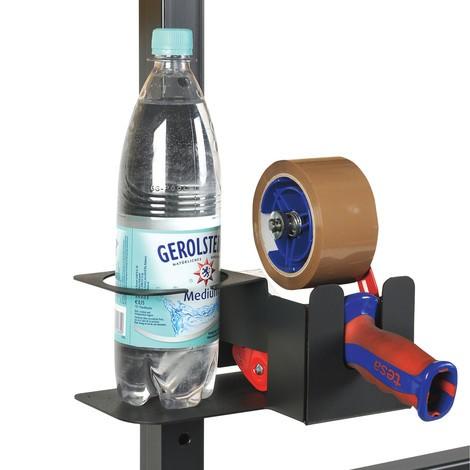 Klebeband- und Flaschenhalter für Packtisch Classic und Multiplex