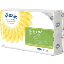 Kleenex® Toilettenpapier ULTRA Einzelblatt