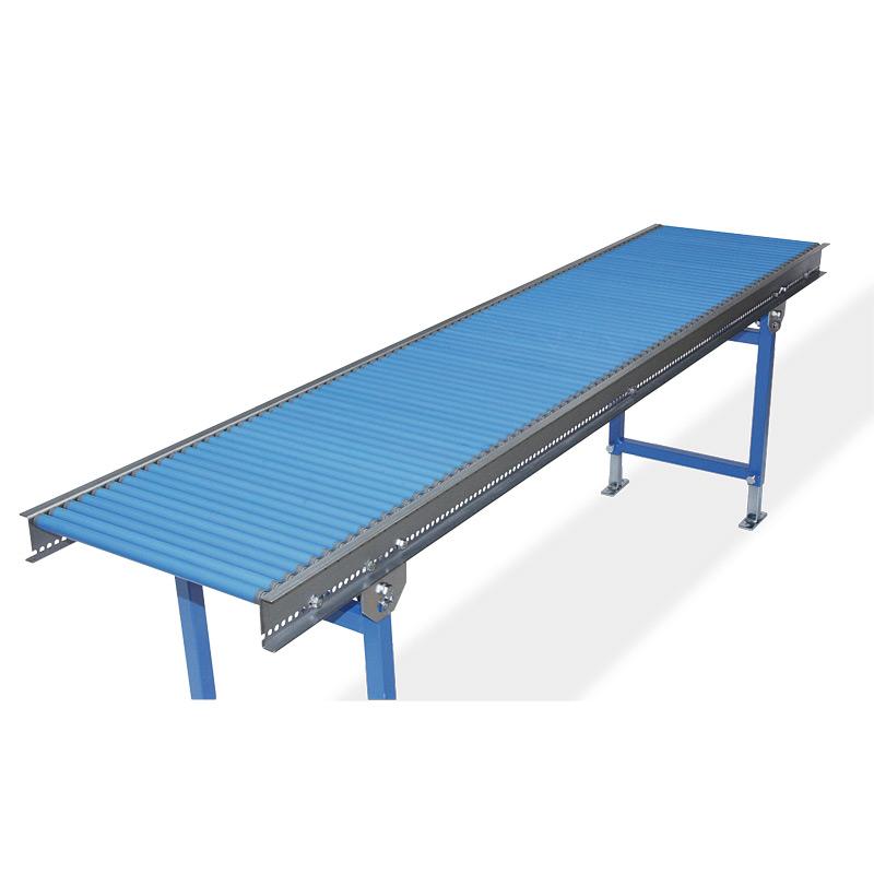 Klein-Rollenbahnen, Tragrollen aus Kunststoff, Bahnlänge 1 - 3 m