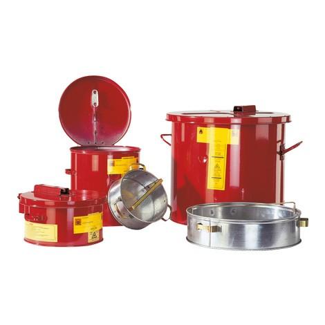 Kleinteile-Gefäß für Wasch- und Tauchbehälter asecos®
