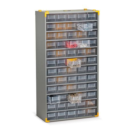 Kleinteilemagazin BASIC. Metallgehäuse: 60 x Gr. 2