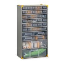 Kleinteilemagazin BASIC, mit Metallgehäuse, Tiefe 135 mm