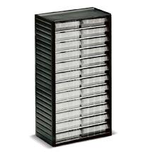 Kleinteilmagazin, 24 Schubladen Typ D, Höhe 550mm