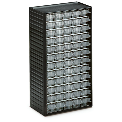 Kleinteilmagazine, 60 Schubladen Typ A, Höhe 550mm