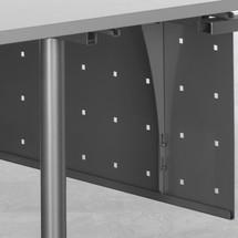 Knæ trim panel til kontormøbel serie Profi