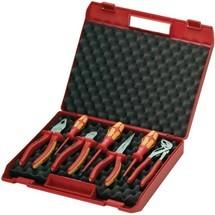 KNIPEX Zangen-/Werkzeugsatz Werkzeug-Box für Elektriker, 7-tlg.