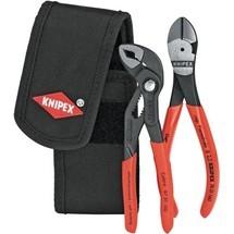 KNIPEX Zangensatz Minis, 2-tlg. Inkl. Gürteltasche 390g