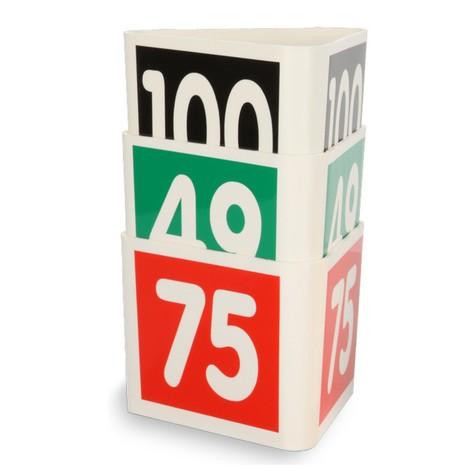 Kocka sčíslom pre vnútropodnikový pohyb materiálu a tovaru
