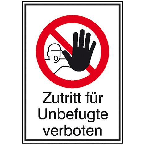 Kombi-Verbotsschild