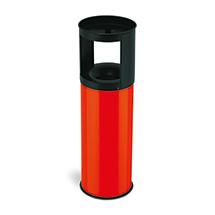 Kombiascher, flammenlöschender Deckel, 25 Liter, div. Farben