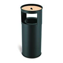Kombiascher, flammenlöschender Deckel, 75 Liter, div. Farben