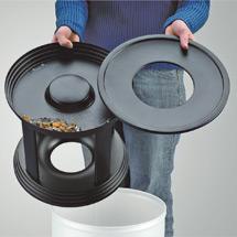 Kombiascher Premium, flammenlöschend, 30 Liter